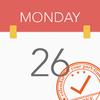 おしゃれなシフト管理カレンダー! バイトカレンダー2